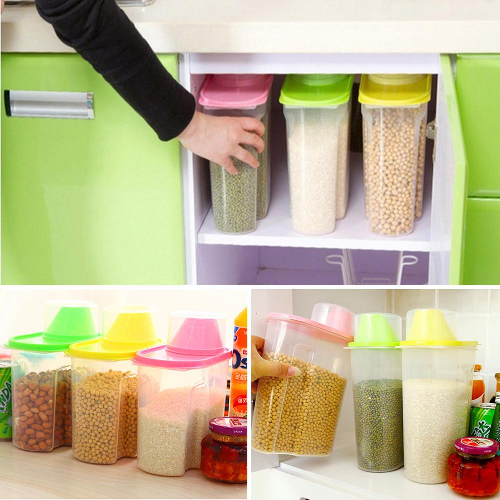 Kitchen Storage Organizer 25L18L Grain Storage Container Rice