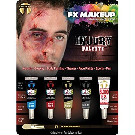 Tinsley Transfers FX Makeup Set - Injury (Special Fx Makeup Kit)