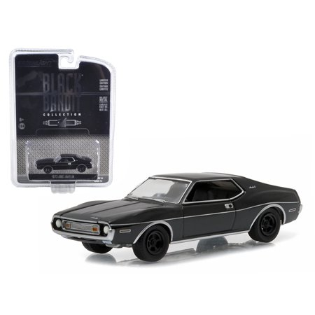 1973 Amc Javelin Black Bandit 1 64 Diecast Model Car By Greenlight