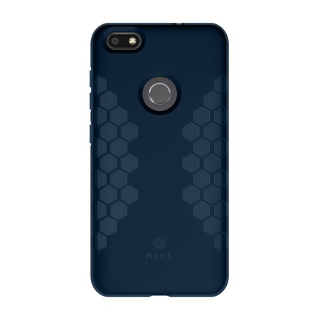 4aba0fb28677 HIVE by Incipio Patterned Gel Case for ZTE Blade X - Navy - Walmart.com