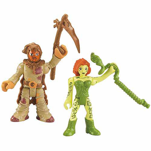 Fisher-Price Imaginext DC Super Friends Scarecrow & Poison Ivy