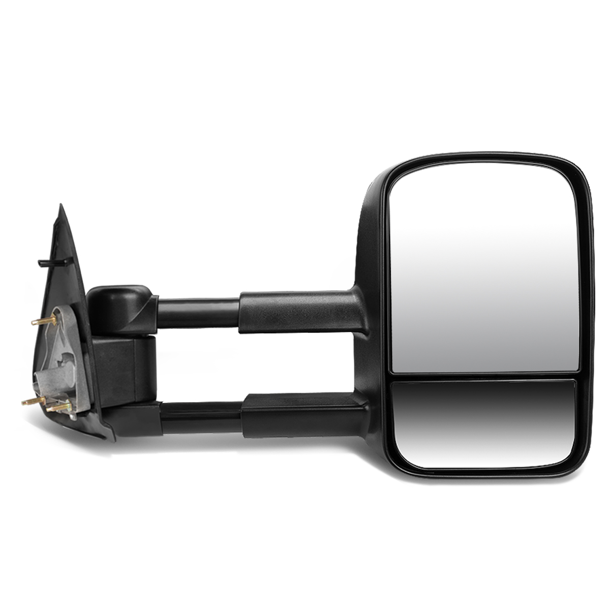 For 1997-2004 Ford F150 F250 Powered Adjustment+Manual Telescoping Towing Mirror (Right/Passenger)