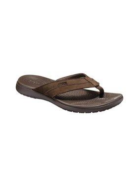 Crocs Men's Santa Cruz Leather Flip