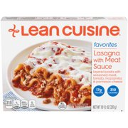LEAN CUISINE FAVORITES Lasagna with Meat Sauce 10.5 oz. Box