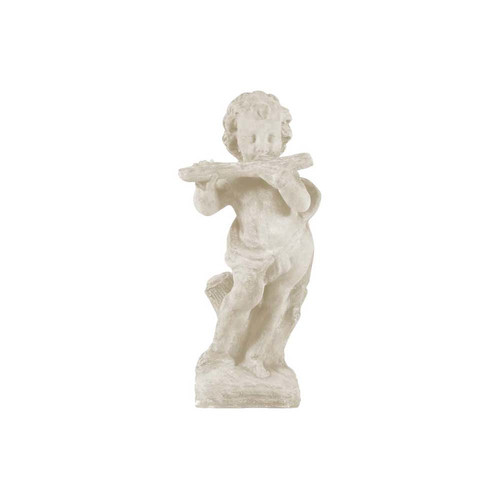 Amedeo Design ResinStone Cherub Flutist Statue