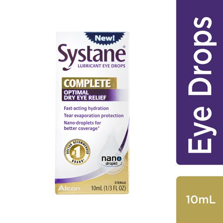 SYSTANE COMPLETE Lubricant Eye Drops for Dry Eye Symptom Relief,
