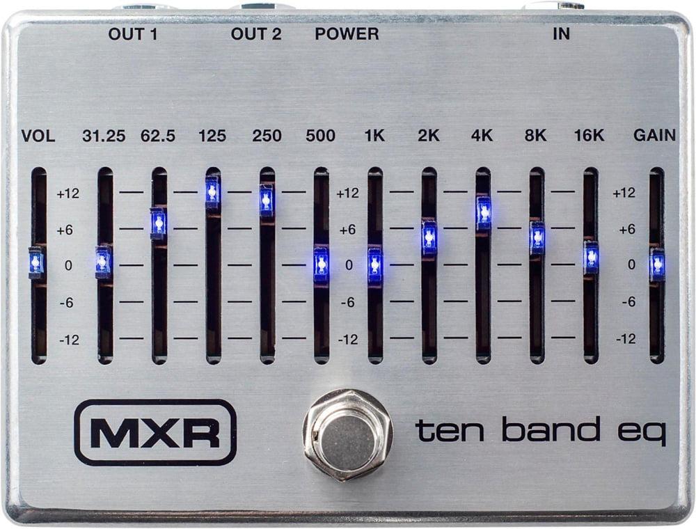 Dunlop MXR M108S Ten-Band Graphic EQ Guitar Pedal by Dunlop