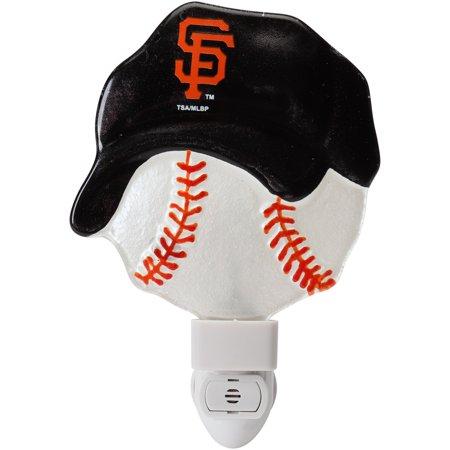 San Francisco Giants Glass Cap Nightlight - No Size