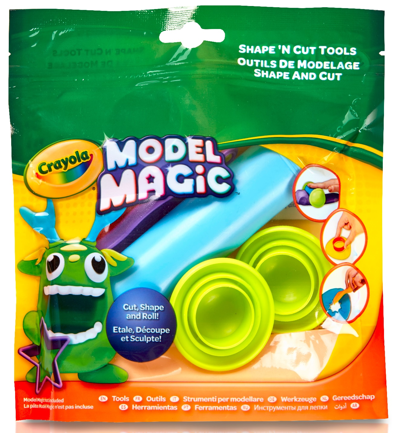 Crayola Model Magic Accessory Set, Clay Tools, Craft for Kids, Gift