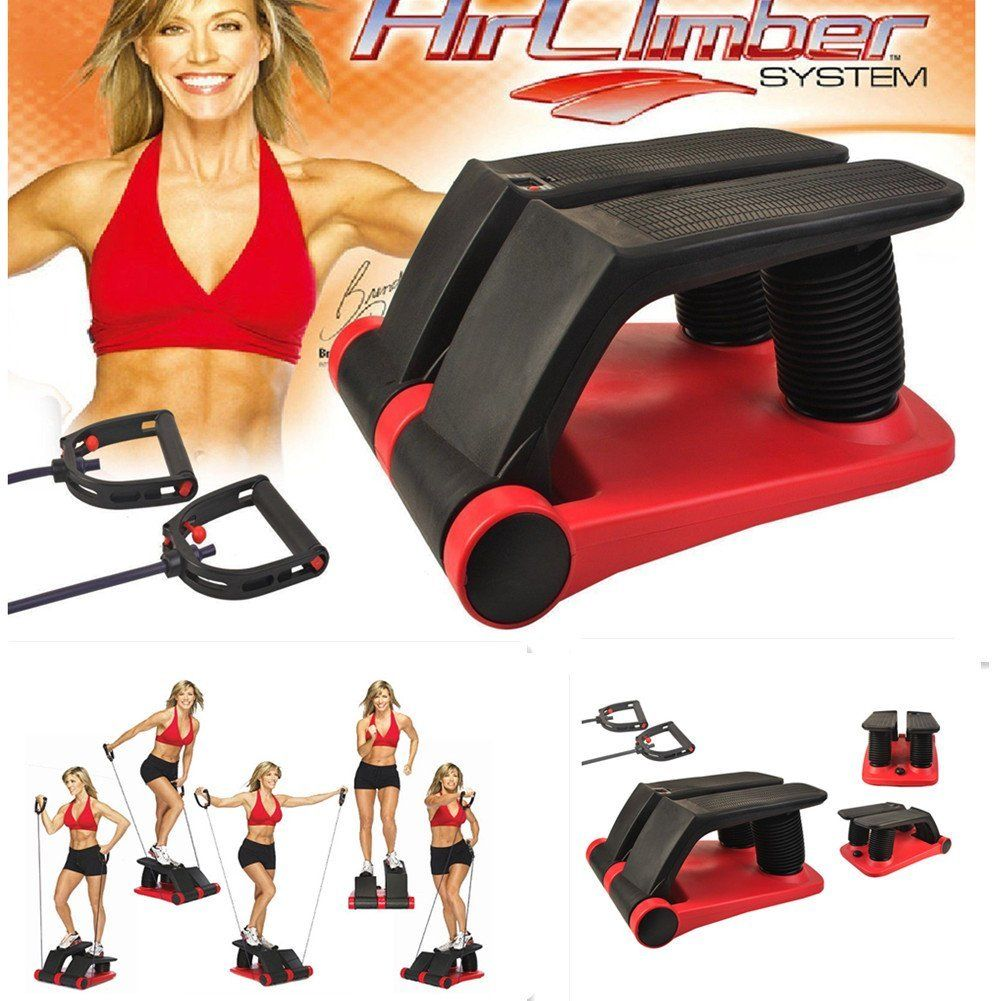 Lightweight Portable Air Stepper Climber Exercise Fitness...