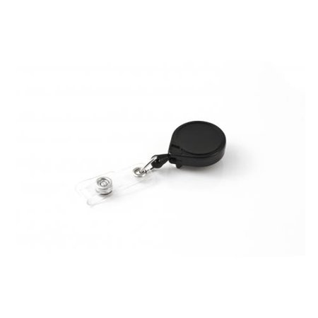 Key-Bak Mini-Bak ID Retractable Reel w/ 36in Nylon Cord, Steel Belt Clip, Vinyl