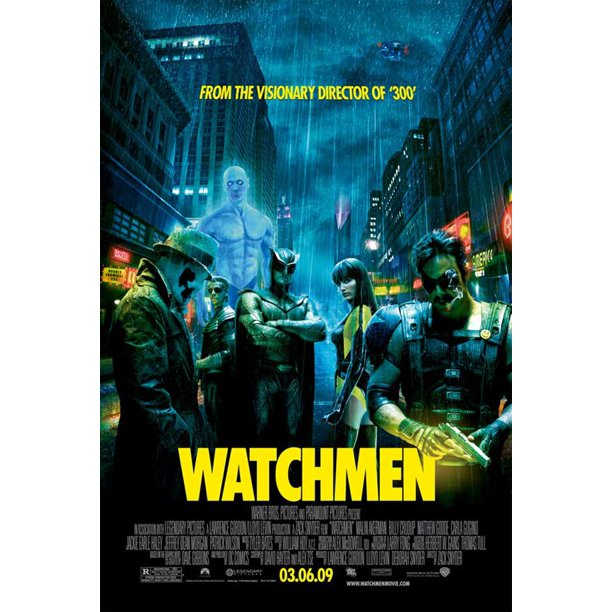 Watchmen 2009 11x17 Movie Poster Walmart Com Walmart Com