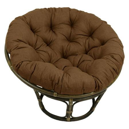 International Caravan Bali 42 in. Solid Papasan Chair with Cushion ()