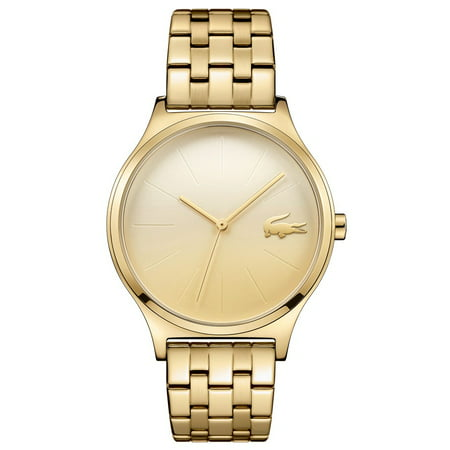 Lacoste Women's Nikita Watch - Gold-Tone Dial & Case - Bracelet - 30m (Watches Lacoste)