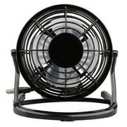 Boyijia Mini USB Portable Electric Fan Adjustable Tabletop Fan 4 Inch Low Noise Cooling Fan