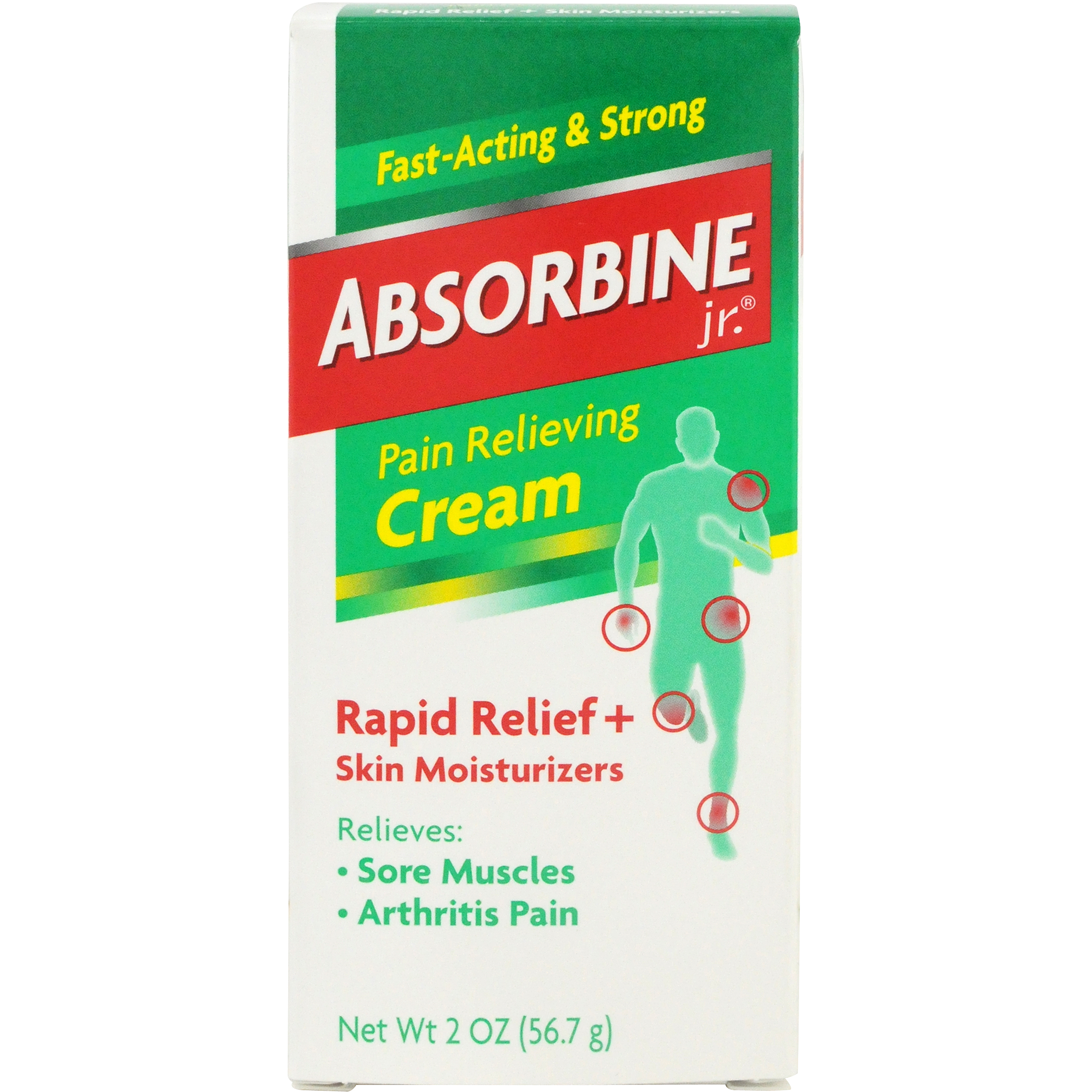 Image of Absorbine Jr. Pain Relieving Cream, 0.2 Oz