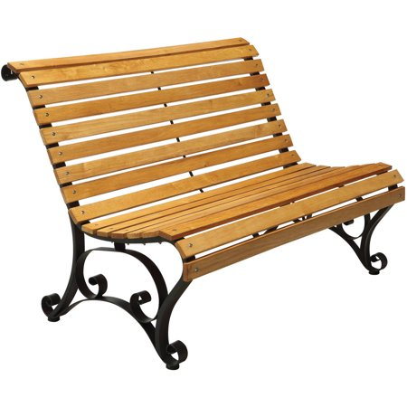 Furniture Of America Thad Cottage Style Outdoor Bench Oak