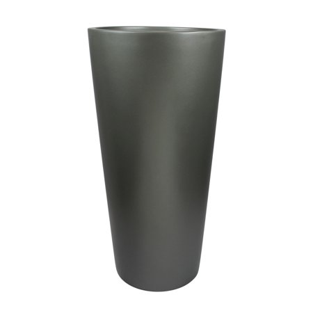 Root and Stock Sonoma Tall Cylinder Fiberglass Planter