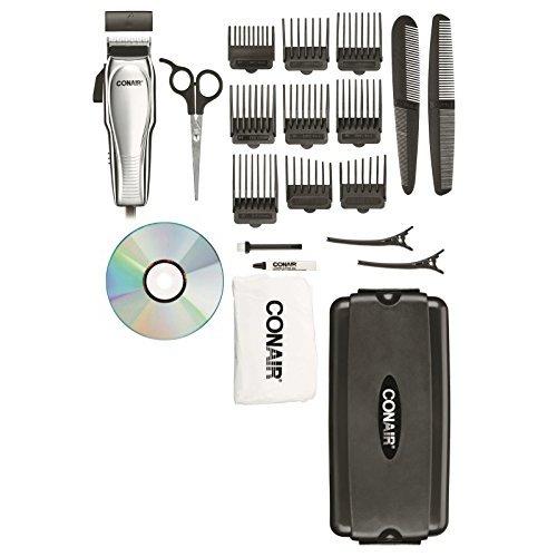 Conair 21-Piece Chrome Custom Haircut Kit
