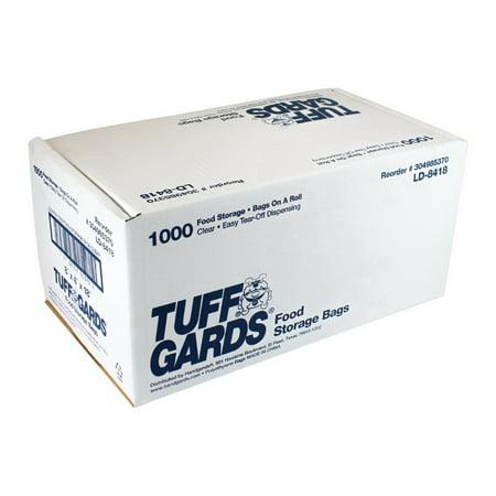 Hgi 304985370 Bag Low Density Poly Roll Pack 8X4X18 1.2Ml. 1-1000 Each