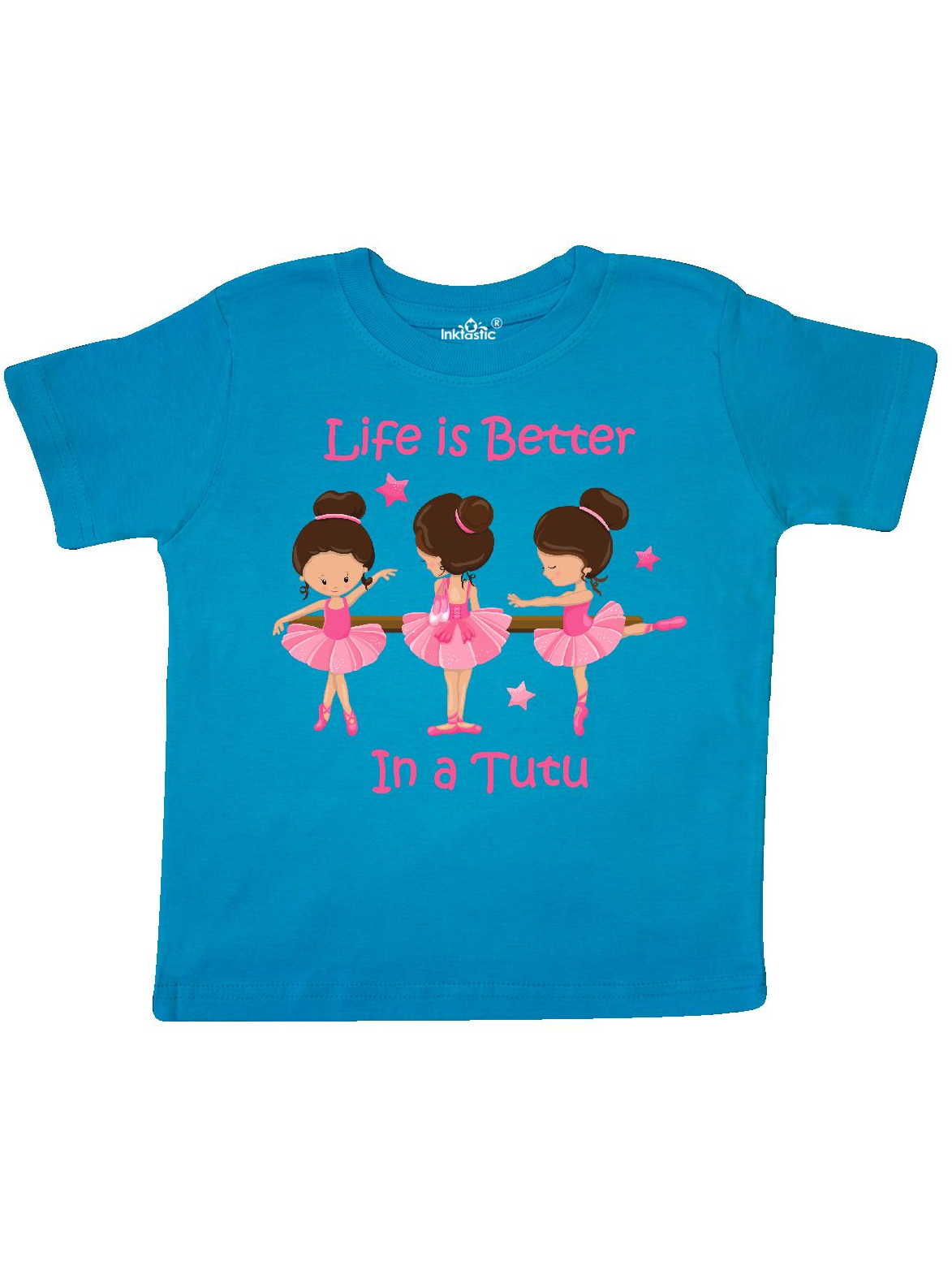 inktastic Lifes Better in a Tutu KS Toddler T-Shirt