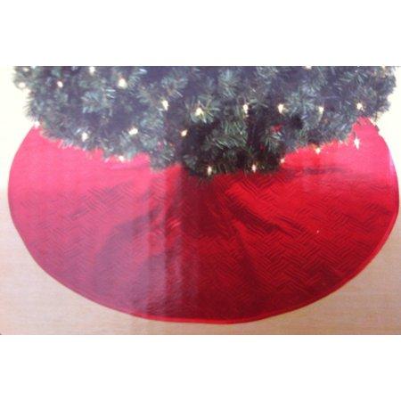 Trim A Home Christmas Tree Skirt - Red, 48 (122cm) Diameter By Trim a Tree
