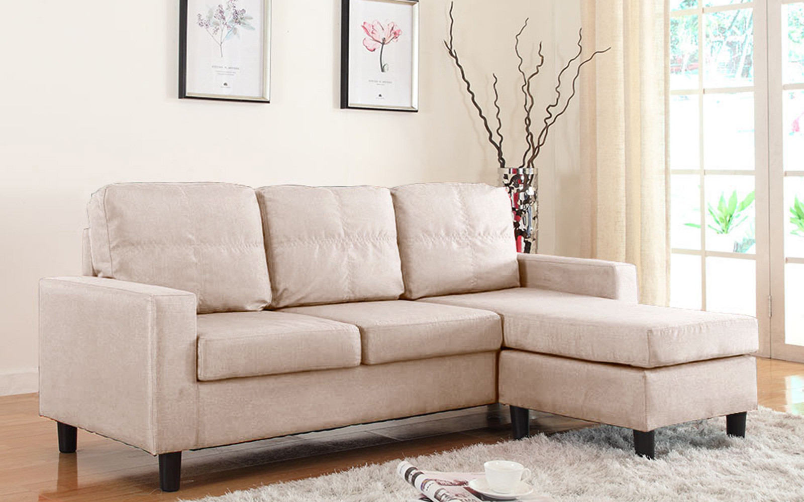 Sectional Sofas and Sectional Couches Walmartcom