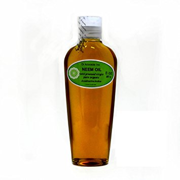 Dr. Adorable - 100% Pure Neem Oil Organic Unrefined Cold Pressed Natural - 8 oz