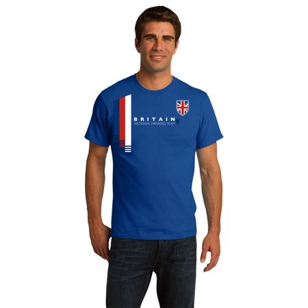 Britain National Drinking Team - British Soccer Football Funny Unisex T-shirt
