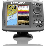 Lowrance HOOK5 Mid/High/Downscan Fishfinder/Chartplotter