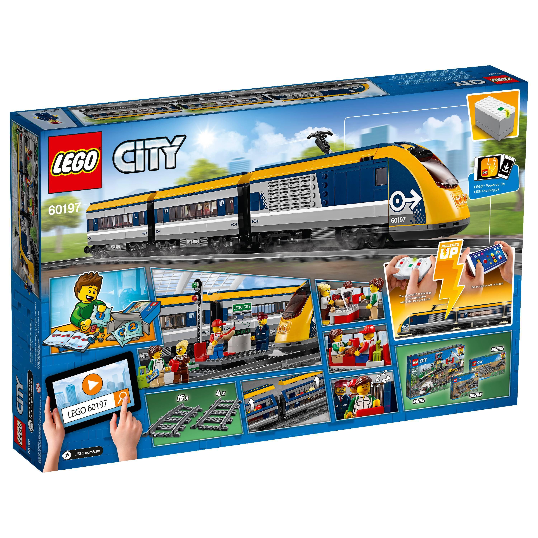 Lego City Passenger Train 60197 Walmart