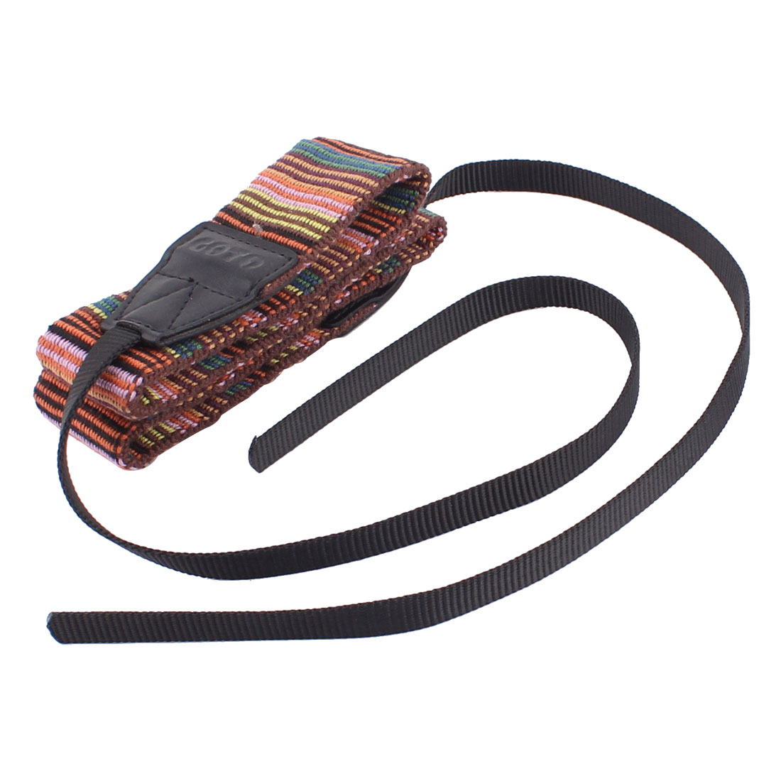 Goto SLR Digital Camera Folk Style Antislip Crossbody Shoulder Strap Multicolor