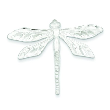 Sterling Silver Dragonfly Pin (Sterling Silver Dragonfly Pin Brooch Insect)