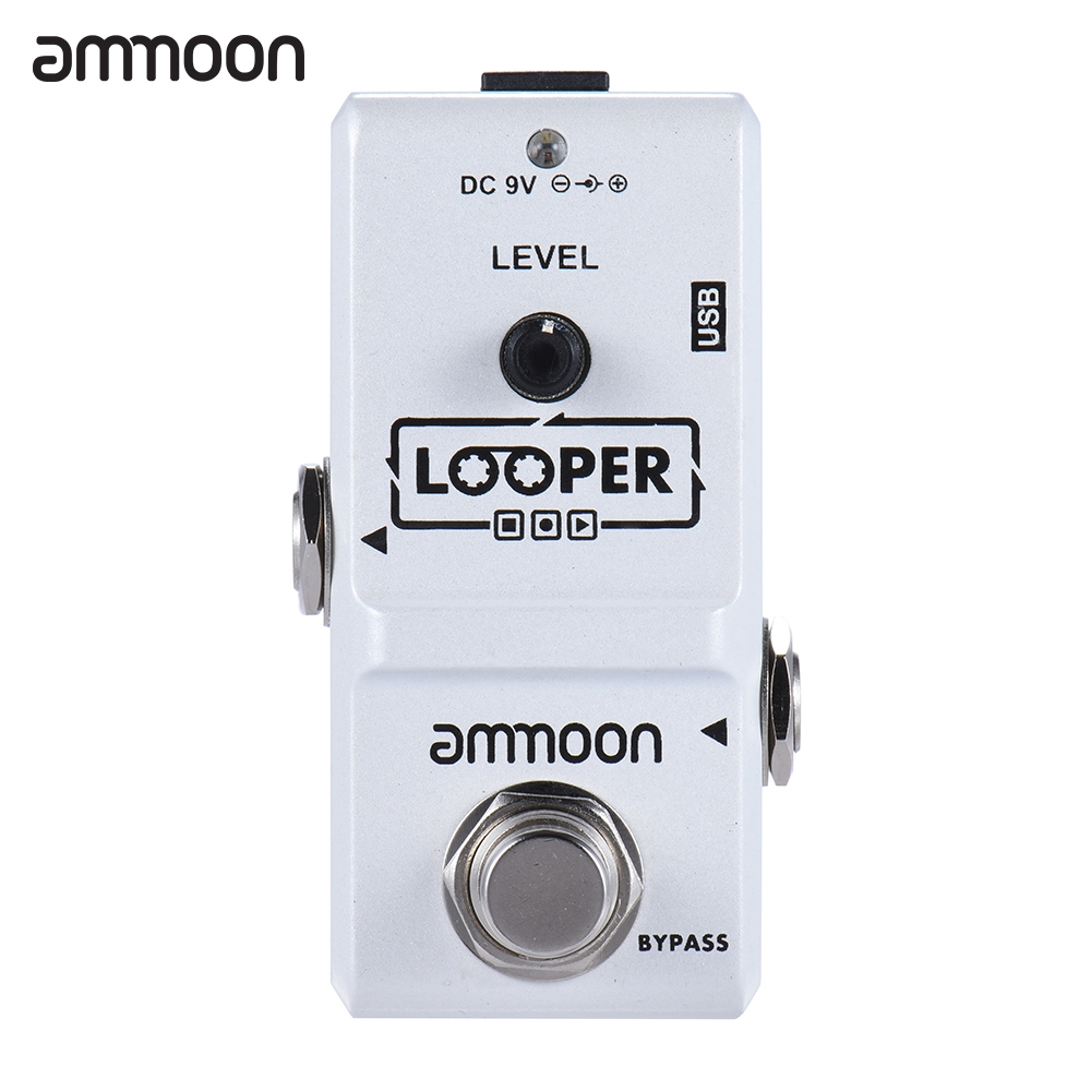 ammoon Nano Series Loop Electric Guitar Effect Pedal Looper by