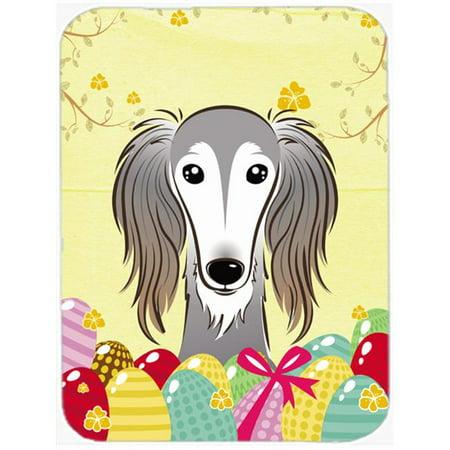 Saluki Easter Egg Hunt Mouse Pad, Hot Pad or Trivet - image 1 of 1
