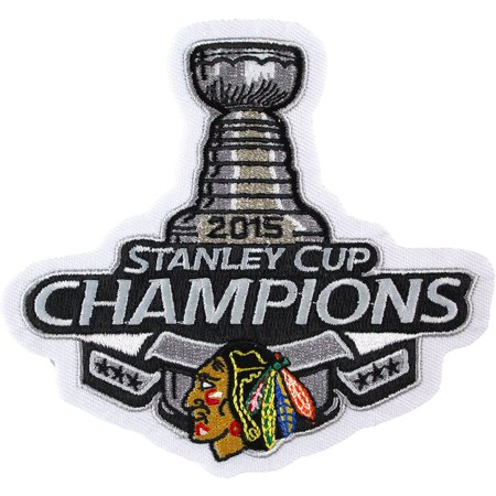 2015 NHL Stanley Cup Final Champions Chicago Blackhawks Jersey Commemorative Patch