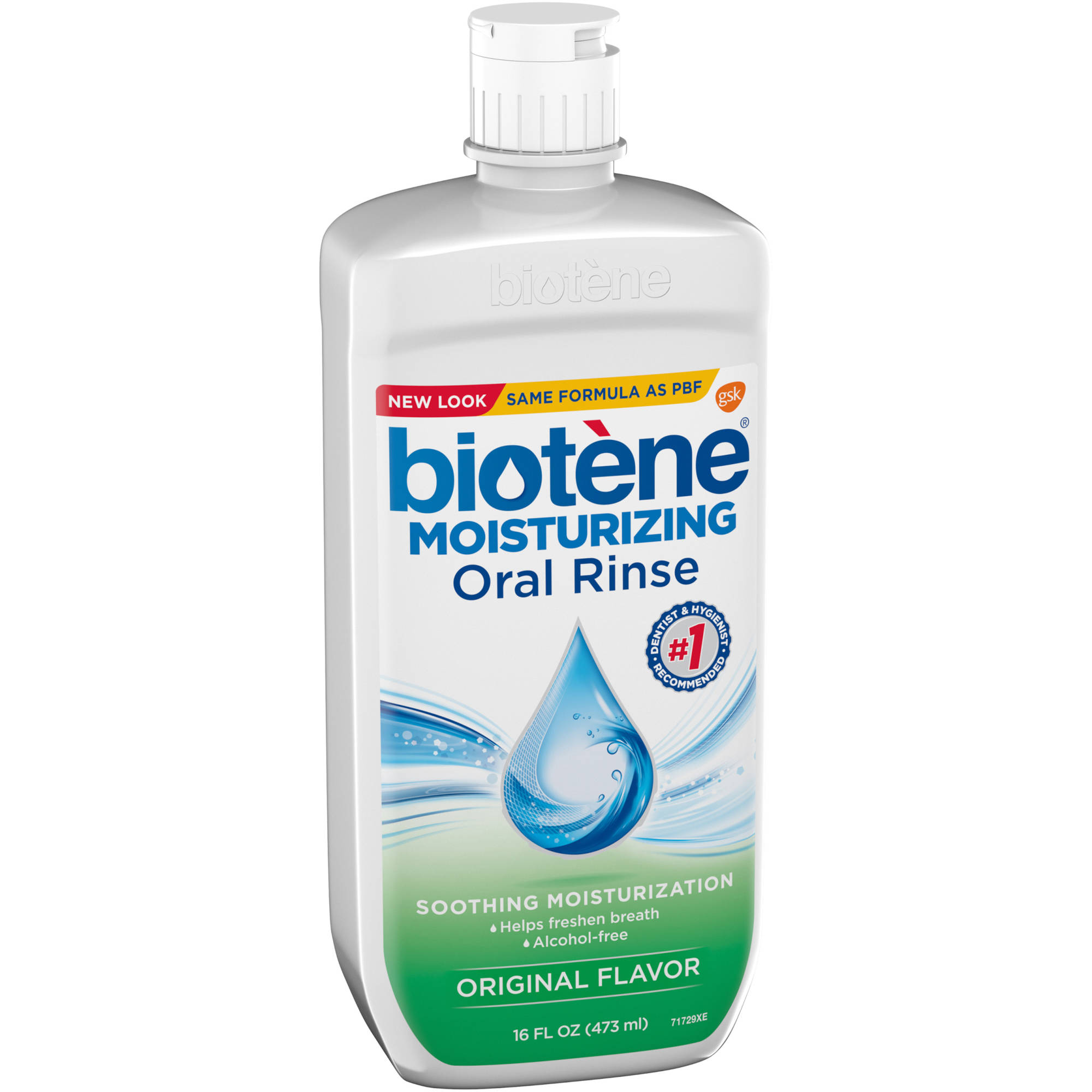 Biotène® Moisturizing Original Flavor Oral Rinse 16 fl. oz. Bottle