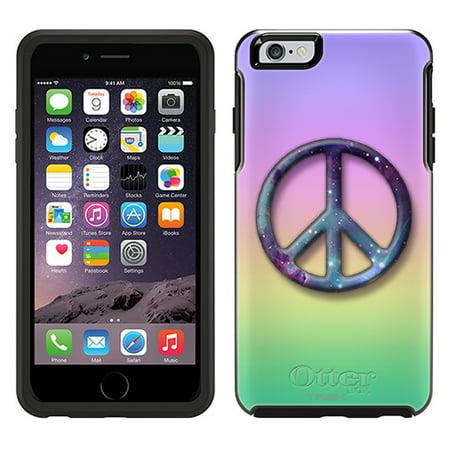 sale retailer ff61e 100f8 OtterBox Symmetry Apple iPhone 6 Plus Case - Peace on Rainbow Pastel Colors  OtterBox Case