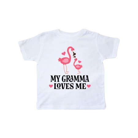 Gramma Loves Me Girl Flamingo Toddler - Flamenco Girls