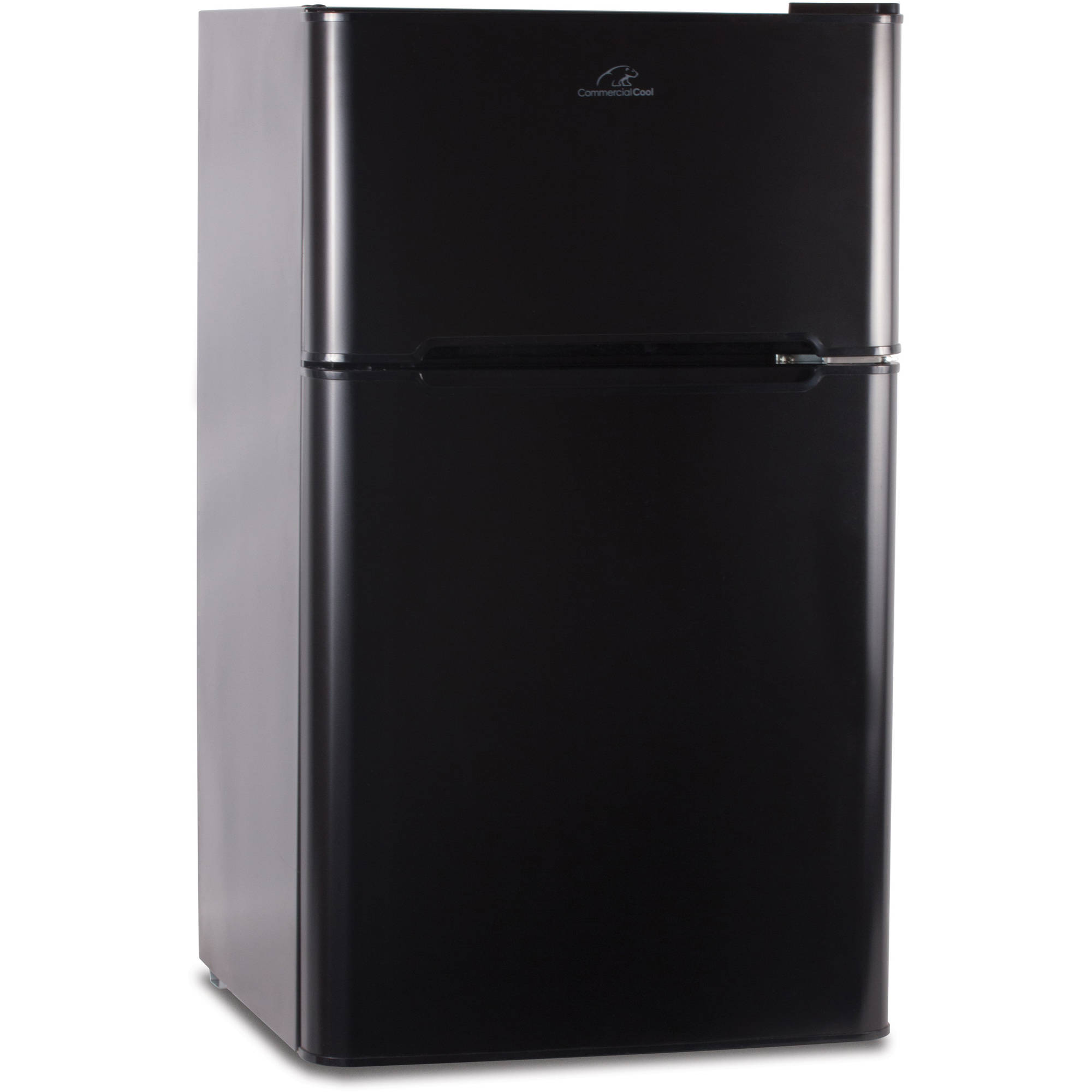 Commercial Cool 3.2 cu ft Refrigerator with Freezer, Black