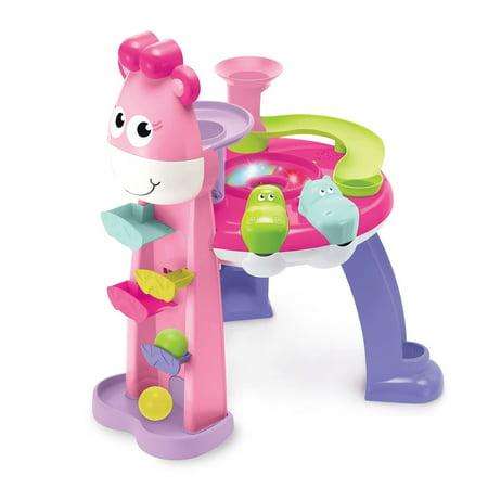 (Girls Giraffe Musical Light Up Ball Popping Fun Table Game)
