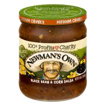 Salsas & Dips: Newman's Own Black Bean & Corn Salsa