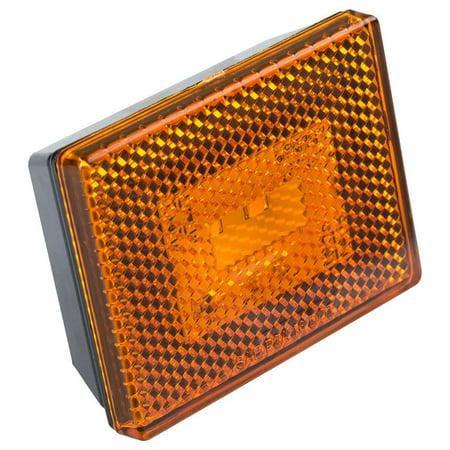 Lumitronics Reflector/Clearance LED Marker Light w/ Stud Mount -