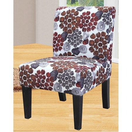 Us Pride Furniture Grace Modern Floral Print Fabric