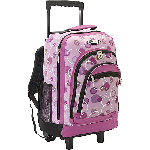 Everest Patterned Wheeled Backpack