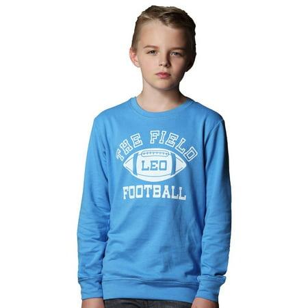 Leo&Lily Big boys Kids Sports Fleece Sportswear Hoodie Pullover