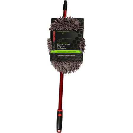 Platinum Series Soft Microfiber Extra Large Dip & Wash Mop Pack - Oval Mop Brushes
