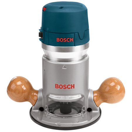 Bosch 2.25-HP Corded Fixed Base Router 6-Inch Diameter 12-Amps 25000-RPM