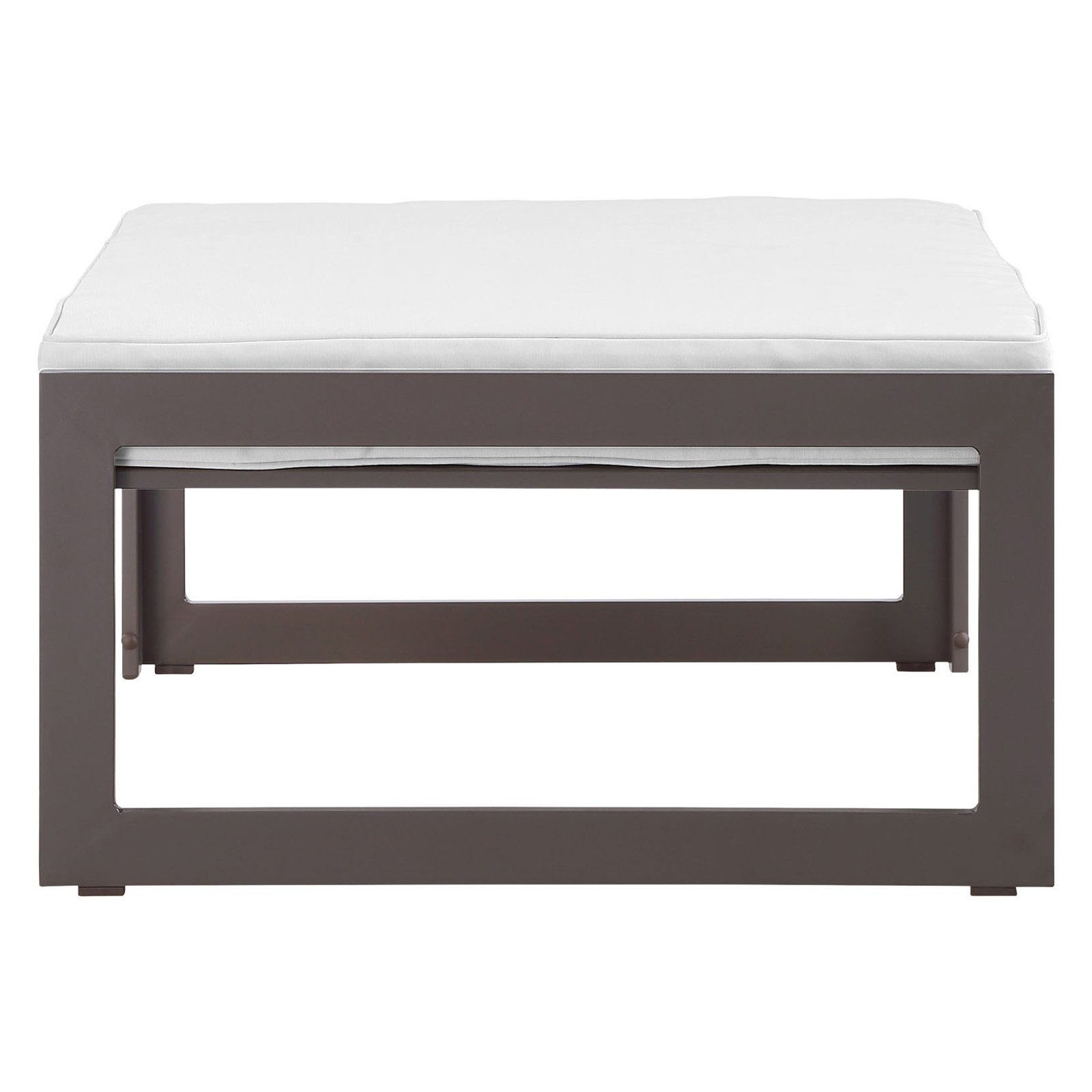 Modway Fortuna Outdoor Patio Ottoman, Multiple Colors