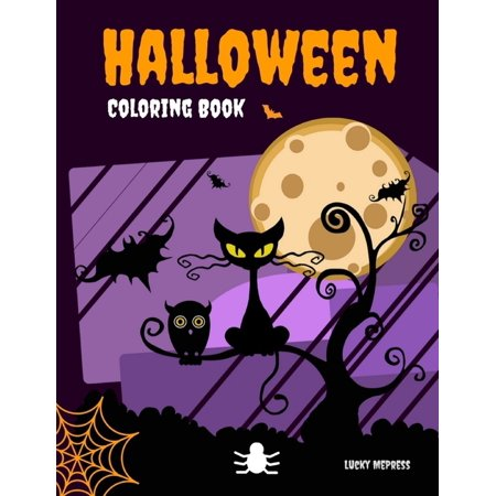Halloween Coloring Book: The exclusive special occasion book to celebrate funny pictures with horror ghosts Halloween Funny Pictures